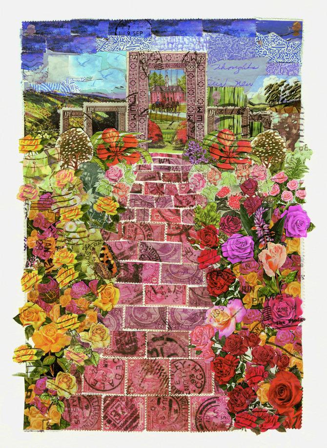 Gardens and Flora - Rachel Markwick - Fine art & collage