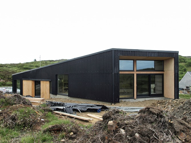 In Progress Rural Design Architects Isle Of Skye And