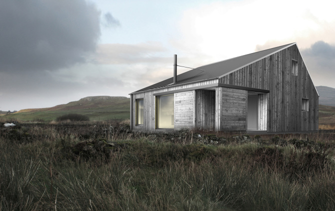 In progress rural design architects isle of skye and for Home designs rural