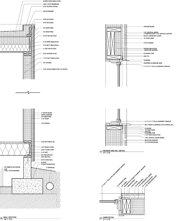 wood frame construction details residential construction baum